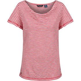 Regatta Francheska t-shirt Dames rood/wit